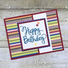 Birthday Card 2 4x4 Candle Card