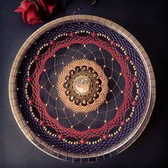 Mandala, Atrapasueños, Boho, Geometría Sagrada, Sagred Geometry https://www.etsy.com/shop/tallercabalissima