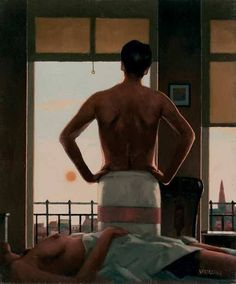Jack Vettriano - The Remains of Love