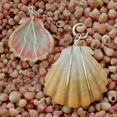 good idea to bead shells without drilling holes in them