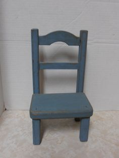 Vintage rustic wooden doll chair by tjmccarty on Etsy