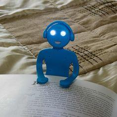 Flat Man Book Light