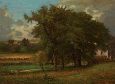 George Inness - Oaks Near Medfield c. 1863-64