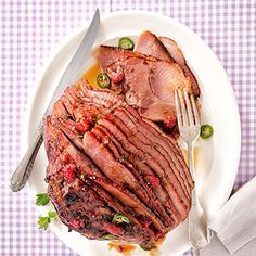 Berry Crisp Spiral Ham From Better Homes and Gardens, ideas and improvement projects for your home and garden plus recipes and entertaining ideas.