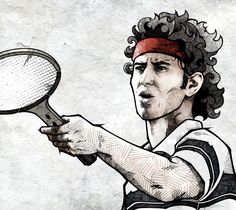 ESPN Classic - Great Controversies by Andreas Preis of Berlin, Germany via Behance.  #tennis