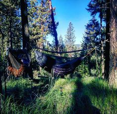 Beautiful spot to set up the hammocks. I was uber comfy in my #bonefiregear Whisper while Jamie was rocking my old rig. Best nights sleep I've had in a while. #hammocklife by @bradypatterson