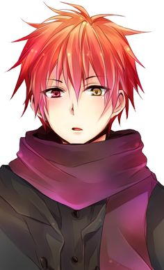 akashi....wowowowo so cute love his eyes