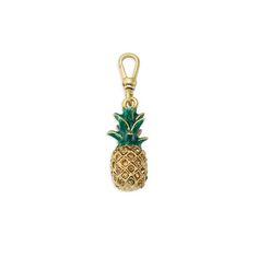 Trésors Pavé Pineapple Charm $32  https://www.chloeandisabel.com/boutique/scrbydrearives
