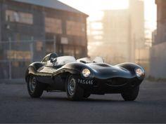 Jaguar D-Type. Saldrá a subasta en el evento automovilístico de la Amelia Island, el 14 de marzo, su precio rondará los 4 millones de euros.