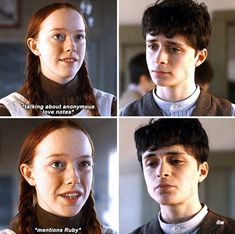 Gilbert And Anne, Anne With An E, Gilbert Blythe, Orphan Girl, Disney Movie Quotes, Anne Shirley, Character Quotes, Cuthbert, Kindred Spirits