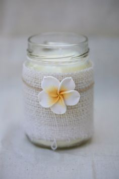 Hand poured #soy #candle. Perfect for your tropical luau! Sex on the Beach fragrance