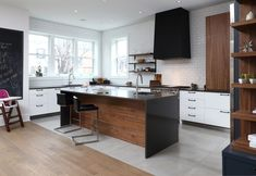 I have been having heart palpitations since coming across the website of kitchen company Cuisin. Kitchen Nook, Kitchen Dining, Kitchen Decor, Kitchen Ideas, Kitchen Colour Schemes, Kitchen Colors, Kitchen Hood Design, Small Kitchen Organization, Scandinavian Kitchen