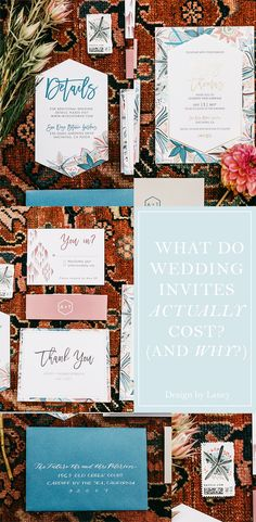 Down and dirty into what custom Wedding Invitations actually cost to create (and why that price tag is so large!)