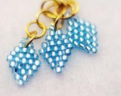 My Little Pony Rarity Dangle Earrings by TheTellTaleNord on Etsy, $12.00