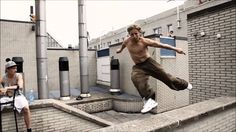 The World's Best Parkour and Freerunning 2012