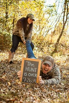 Cute engagement picture! I'm totally going to use this!