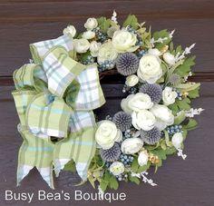 Designer Wreath PromisesPromises Silk Floral