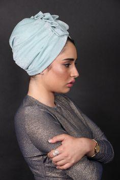 9e8fb19aee90 Articles similaires à chapeau de turban, chapeau de chimio, turban pour  femmes, hijab moderne, enveloppe de cheveux mode, turban cheveux, bandeaux de  turban ...