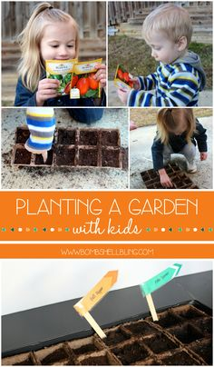 Planting a Garden with Kids - Simple tips to get you started from an experienced gardner!