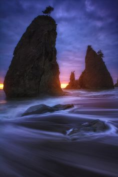~~Sliver of Light | Rialto Beach, Olympic National Park, Washington by Candace Bartlett~~
