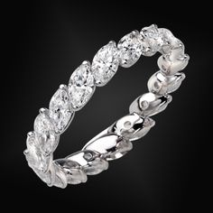 Diamond Marquise Full Eternity Ring