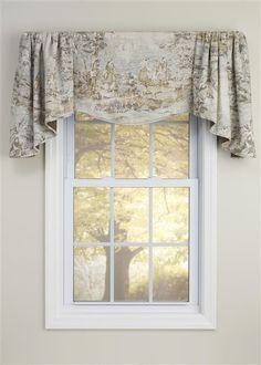 add luxury to any room with the salisbury window valance