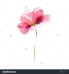 flower watercolor - Buscar con Google