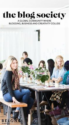 The Blog Society, a global community where blogging, business and creativity collide formed by Jaclyn Carlson, a passionate creative matchmaker who believes in the power of collaboration. Workshops, e-courses and events. / The Blog Society + Founder Jacly