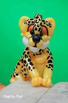 Cheetah balloon