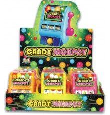 Kidsmania (C106S) Slot Machine Candy Jackpot Dispenser 12ct #552