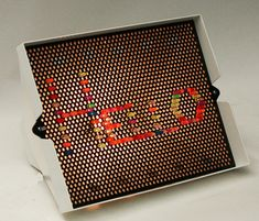 Black pegboard with brackets, black refillable paper (similar to doctors office beds) and lite brite or colored acrylic pegs for endless interactive designs. Who did like a lite brite. Lite Brite, My Childhood Memories, Childhood Toys, Great Memories, 1970s Childhood, 80s Kids, Kids Toys, Children Play, I Remember When