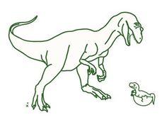 Wandaufkleber Dino (MIMI'lou)