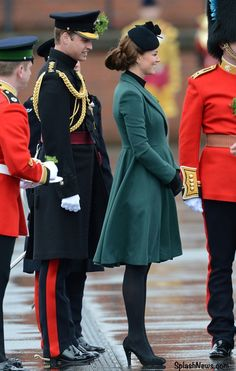 William & Kate Celebrate St. Patrick's Day with the Irish Guards » What Kate Wore