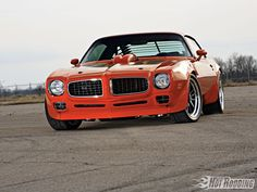 If I ever get to rebuilding my father's old car, I want to put the front end of '71 TA on the '76