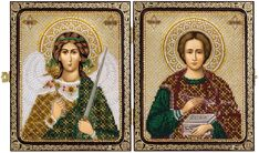 CE7203 St. Pantaleon the Great Martyr and Healer & Holy Guardian Angel