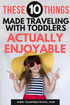 Traveling with toddlers doesn't have to be stressful! These 10 toddler travel hacks made our lives so much easier traveling with toddlers. If you are heading on vacation with a toddler, make sure to c Toddler Plane Travel, Travel With Kids, Family Travel, Travel Gadgets, Travel Hacks, Travel Tips, Travel Packing, Orlando Travel, Orlando Disney