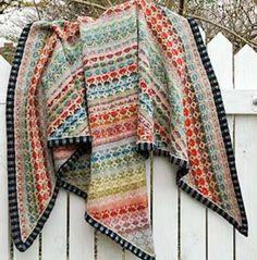 Christel Seyfarth shawl