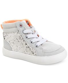 cool Carter's Little Girls' or Toddler Girls' Tia Casual Sneakers - Shoes - Kids & Baby - Macy's Little Girl Shoes, Cute Little Girls Outfits, Kid Shoes, Girls Shoes, New Sneakers, Casual Sneakers, Sneakers Fashion, Toddler Sneakers Girl, Girls Sneakers