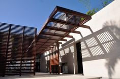 Love the entrance canopy