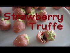 Strawberry Cream Cheese Truffle いちごトリュフ Valentine Recipe バレンタインレシピ