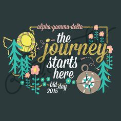 Sorority Recruitment Alpha Gamma Delta Nature Trees State Outline South By Sea