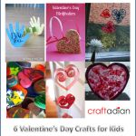 Our collection of 6 fun and easy Valentine's Day crafts for kids. Everything from stamping, garland, yarn, bird feeders and sun catchers. Valentine's Day Crafts For Kids, Valentine's Day Diy, Valentine Day Crafts, Easy Diy Crafts, Garland, Christmas, Fun, Handmade, Blog