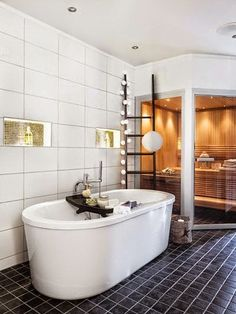 My dream bathroom Bathroom Rules, Bathroom Spa, Master Bathroom, Goth Home, Deco Design, Cool Rooms, Beautiful Bathrooms, Room Interior, Sweet Home