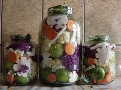 Fermented Foods, Preserves, Pickles, Ketchup, Cucumber, Mason Jars, Veggies, Food And Drink, Canning