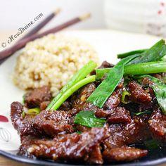 Healthier Mongolian Beef Recipe