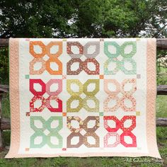 Clovers & Jam Quilt Kit featuring Honeysweet by Fig Tree Quilts
