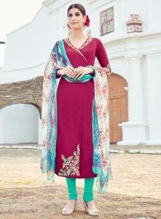 Online Shopping for Anarkali Salwar Kameez | Dailywear Salwar Suits in India UK Canada
