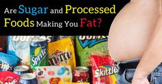 Those with cereal and soda on their counters are on average, 20 to 26 pounds heavier, than those without. http://articles.mercola.com/sites/articles/archive/2015/11/09/added-sugars-processed-foods.aspx