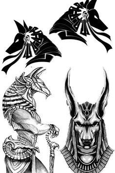 Skull Tattoos, Forearm Tattoos, Body Art Tattoos, Hand Tattoos, Osiris Tattoo, Anubis Tattoo, Egyptian Mythology, Egyptian Symbols, Tattoo Sleeve Designs