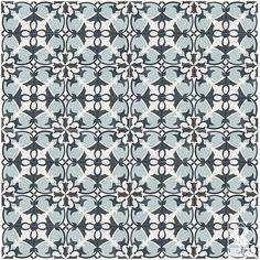 """Rustico Tile & Stone MeaLu 8"""" x 8"""" Sofia Field Cement Tile"""